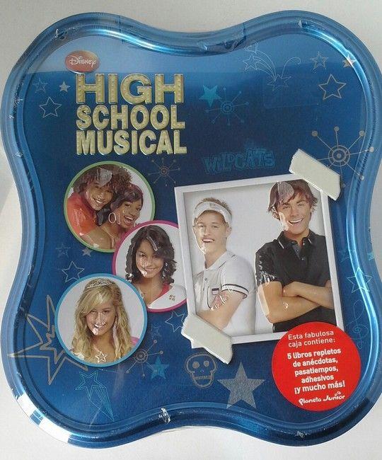 CAJA METALICA HIGH SCHOOL MUSICAL - DISNEY. HIGH SCHOOL MUSICAL