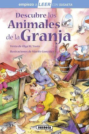 DESCUBRE LOS ANIMALES DE LA GRANJA - VV.AA.