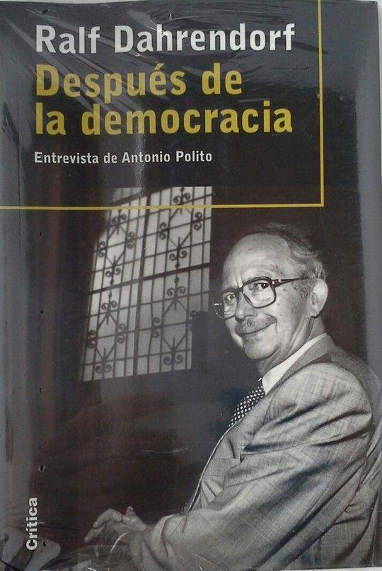 HACIA LA DEMOCRACIA - DAHRENDORF, RALF