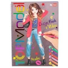 LIBRO DE COLOREAR + VIDEO TOP MODEL