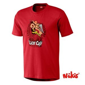 LICOR CAFE-T.XL-VERMELLO-HOME CAMISETA