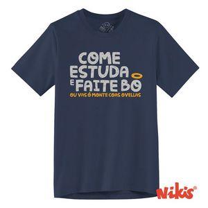 COME ESTUDA E FAITE BO - T7/8 NENOS CAMISETA