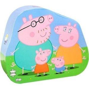 PUZZLE 24 PIEZAS FAMILIA PEPPA PIG