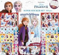 FROZEN II SUPER STICKER SET 500 PCS