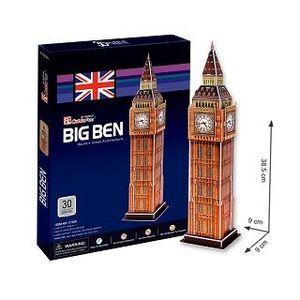 PUZZLE 3D BIG BEN. WORLD'S GREAT ARCHITECTURE 30 PIEZAS