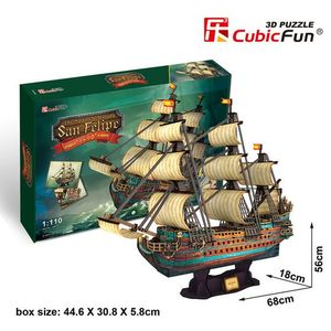 PUZZLE 3D THE SPANISH ARMADA SAN FELIPE 1690