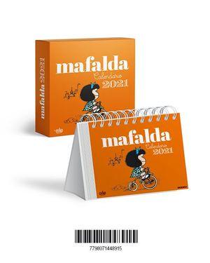 CALENDARIO 2021 MAFALDA CAJA- ANARANJADO