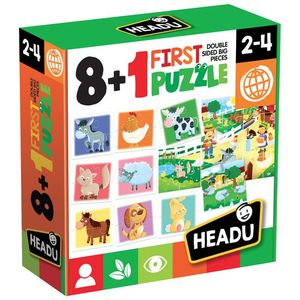 JUEGO FIRST PUZZLE MY FARM 8 + 1