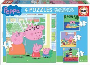 PUZZLE 2X9 PIEZAS PEPPA PIG
