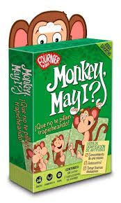 JUEGO EDUCATIVO FOURNIER MONKEY MAY IT?