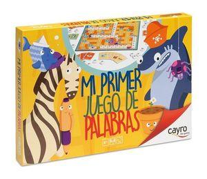 JUEGO DE MESA MI PRIMER JUEGO DE PALABRAS