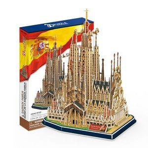 PUZZLE 3D CUBIC FUN: IGLESIA DE LA SAGRADA FAMILIA