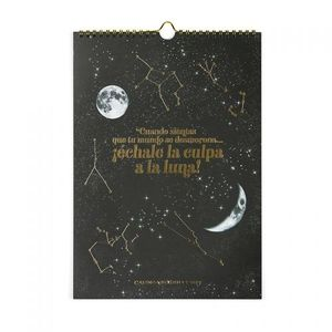 CALENDARIO LUNAR PARED 2019