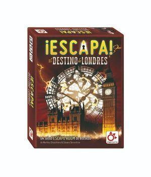 JUEGO DE ESCAPE ESCAPA EL DESTINO DE LONDRES