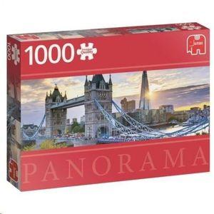 PUZZLE PANORAMA COLOURFUL TOWER BRIDGE LONDON 1000 PCS