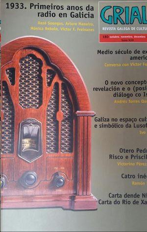 1933 PRIMEIROS ANOS DA RADIO EN GALICIA