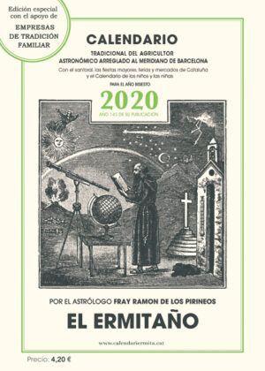 CALENDARIO EL ERMITAÑO 2020