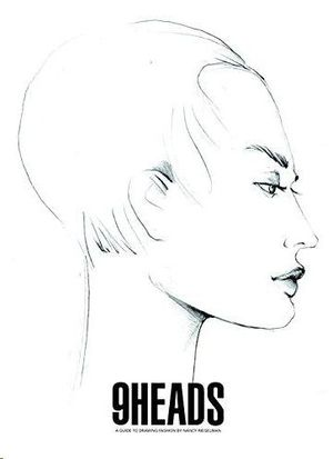 9 HEADS: A GUIDE TO DRAWING FASHION (4TH EDITION)