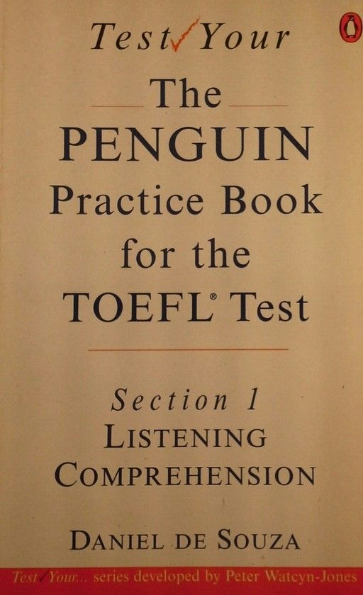 PENGUIN PRACTICE BOOK FOR THE TOEFL TEST, THE