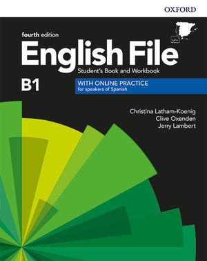 ENGLISH FILE 4TH EDITION B1. STUDENT'S BOOK AND WORKBOOK WITHOUT KEY PACK