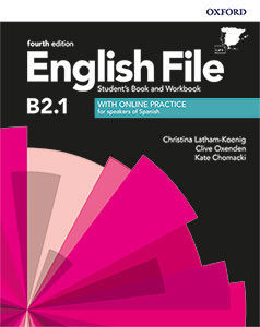 ENGLISH FILE 4TH EDITION B2.1. STUDENT'S BOOK AND WORKBOOK WITH KEY PACK