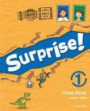 SURPRISE 1: CLASS BOOK PACK CON MULTI-ROM