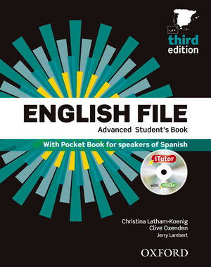 ENGLISH FILE 3RD EDITION ADVANCED. STUDENT'S BOOK + WORKBOOK WITH KEY PACK