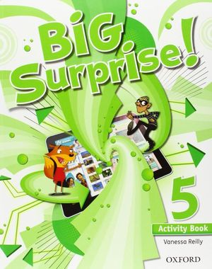 BIG SURPRISE 5: ACTIVITY BOOK AND MULTI-ROM PACK