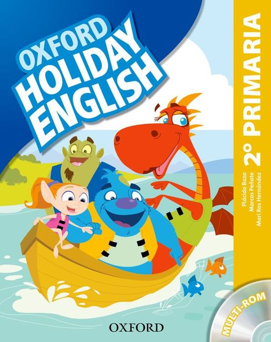 HOLIDAY ENGLISH 2.º PRIMARIA. STUDENT'S PACK 3RD EDITION