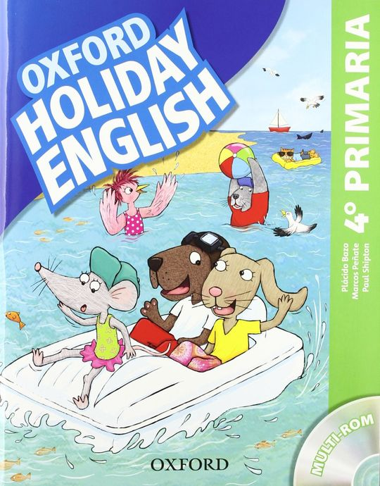 HOLIDAY ENGLISH 4.º PRIMARIA. PACK 3RD EDITION