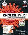 ENGLISH FILE UPPER-INTERMEDIATE: STUDENT'S BOOK WORK BOOK WITH KEY PACK (3RD EDI
