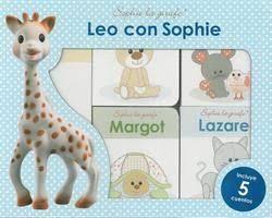 LEO CON SOPHIE (INCLUYE 5 CUENTOS)