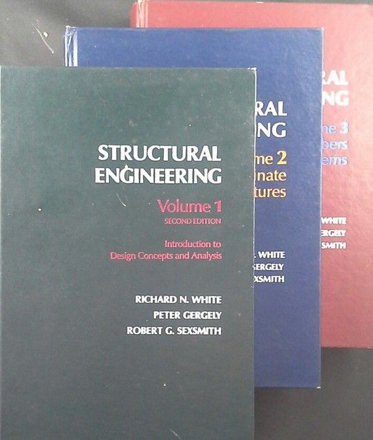 STRUCTURAL ENGINEERING VOLS 1 TO 3