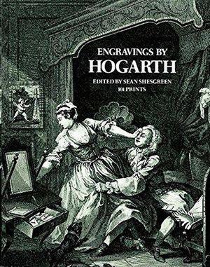 ENGRAVINGS BY HOGARTH - 101 PRINTS