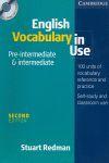 ENGLISH VOCABULARY IN USE PRE INTERMEDIATE