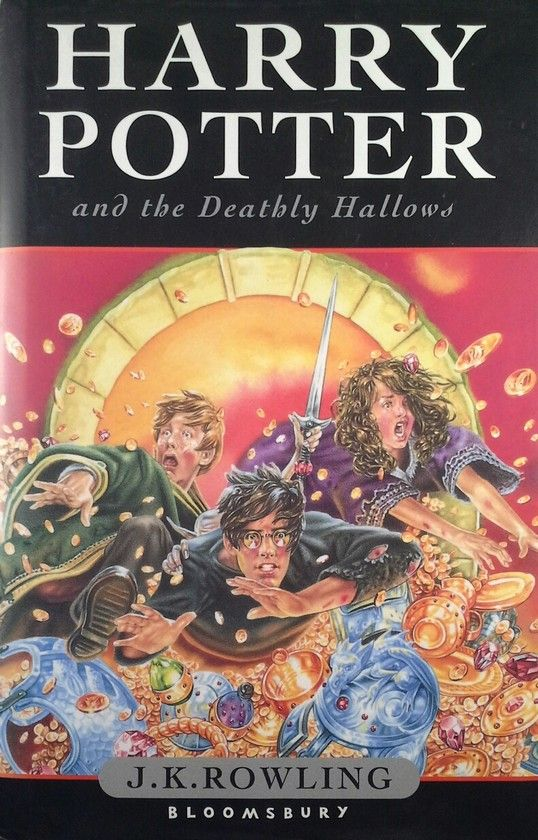 HARRY POTTER AND THE DEATHLY HALLOWS (INGLES)