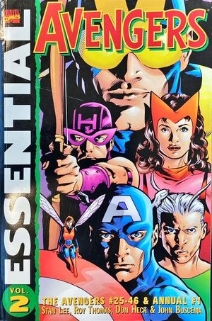 AVENGERS ESSENTIAL VOL. 2