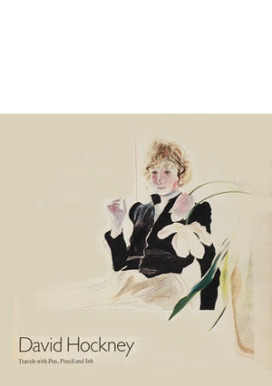 DAVID HOCKNEY - TRAVELS WITH PEN, PENCIL & INK