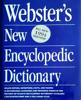 WEBSTER´S NEW ENCYCLOPEDIC DICTIONARY