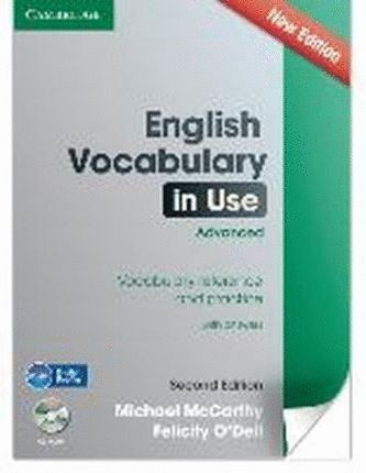 ENGLISH VOCABULARY IN USE ADVANCED WITH ANSWERS WITH CD-ROM SECOND EDITION