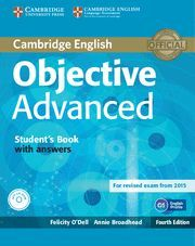OBJECTIVE ADVANCED STUDENT'S BOOK WITH ANSWERS WITH CD-ROM 4TH EDITION
