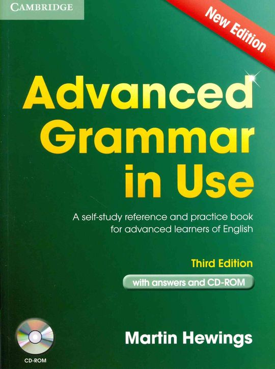 ADVANCED GRAMMAR IN USE BOOK WITH ANSWERS AND CD-ROM 3RD EDITION