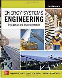 ENERGY SYSTEMS ENGINEERING: EVALUATION AND IMPLEMENTATION, 3º ED