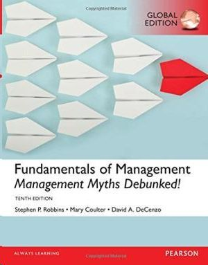 FUNDAMENTAL OF MANAGEMENT 2017