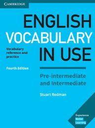 ENGLISH VOCABULARY IN USE. PRE-INTERMEDIATE KEY + CD