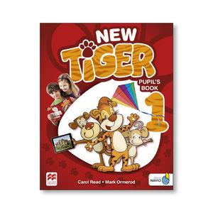 NEW TIGER 1 PUPILS BOOK PACK