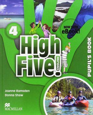 HIGH FIVE! ENGLISH 4ºPRIMARIA. PUPIL'S BOOK +EBOOK PACK