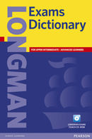 LONGMAN EXAMS DICTIONARY CASED WITH CD-ROM