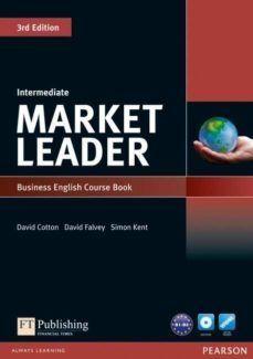 MARKET LEADER 3RD EDITION INTERMEDIATE COURSEBOOK & DVD-ROM PACK