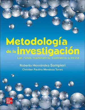 METODOLOGIA DE LA INVESTIGACION LAS RUTAS CUANTITATIVA CUALI